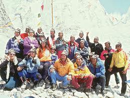 Lene Gammelgaard - besteg Mount Everest med Scott Fischer og Anatoli Boukreev