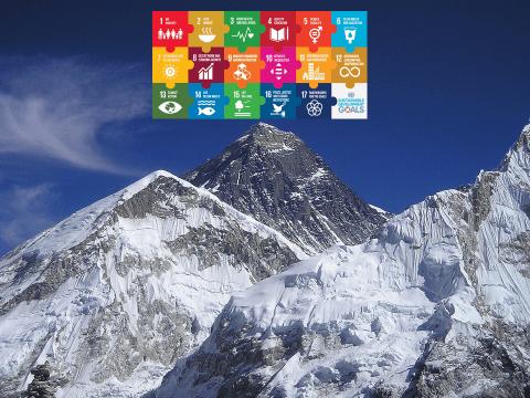 Foredrag til forretningslivet om de 17 verdensmål for bæredygtig udvikling som innovations strategi